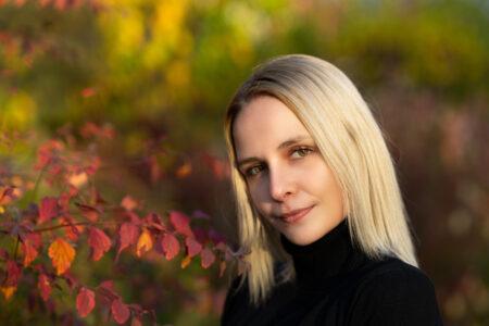 Fotoshooting Mädchen in Herbstlicher Umgebung in Bamberg